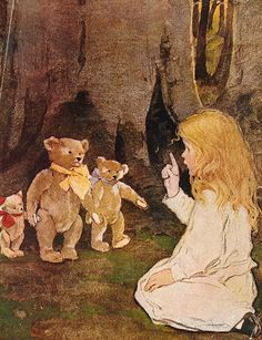 Goldilocks And The Three Bears 3 - Illustrator: Jessie Willcox Smith