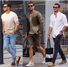 What's your favorite?  #ootd #mensfashion #mensstyle #menswear #mensfashion #fashion #men #menwithstyle #streetstyle #menfashion #style