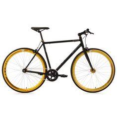 Vélo fitness fixie 28 pouces  Pegado noir TC 59 cm KS Cycling