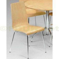 £29.99 - Julian Bowen Mandy Real Maple Veneer Dining Chair