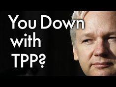 ▶ WikiLeaks Leaks Controversial Secret Trans-Pacific Partnership Documents - YouTube