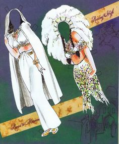 Dorothy Lamour Paper Doll by Jim Howard