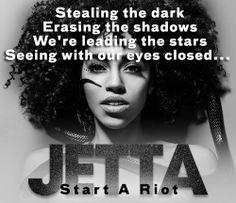 Jetta - Start A Riot. iTunes Single of the Week!