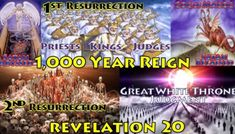 Navigation 20 - Revelation Chapter 20 - Satan Abyssed & Released - 1,000 Year Reign - Great White Throne Judgment