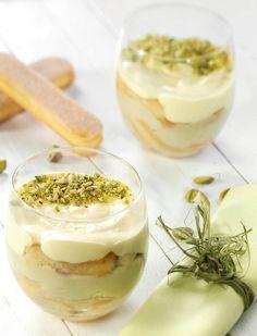 Pistacchio TiramiSu recipe by  Matilde Vicenzi Italian Fine Pastry