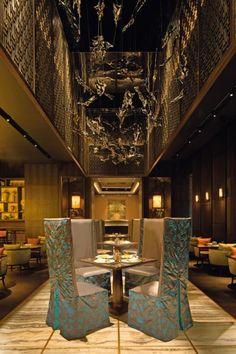 Yuan Restaurant, Atlantis The Palm, Dubai designed by Steve Leung Designers