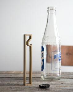 "Brass Bottle Opener ""Frame"" - Futagami - Nalata Nalata"