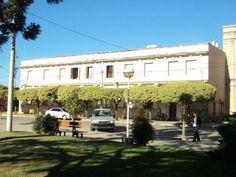Plano general del lado derecho del Instituto Santísima Trinidad (Hernando, Córdoba).   Camila Herranz