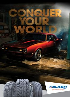 Camaro Performers Magazine Ad Conquer Your World