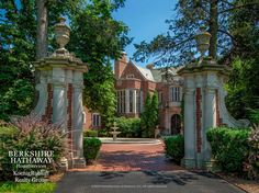 For sale: $9,450,000. One of Illinois' most architecturally-significant estates on Lake Michigan, the Schweppe Estate, was restored to perfection in 1987 and 1988 by 70 craftsmen and European artists/stonecrafters. Over 440-foot of lake frontage, 28 rooms, 12 bedrooms, 12.5 baths, marble fireplaces, intricate limestone molding and plaster relief ceilings. Exquisite dining room with beveled mirror panels and handsome library with spectacular detail. Fabulous gardens and grounds.