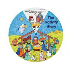 Color Your Own Nativity Wheel - Soft Saints Inc.