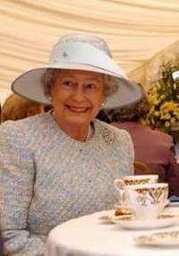 Queen Having Tea