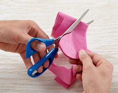 tissue paper wisteria