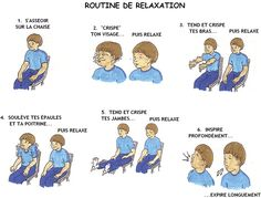 routine progressive de relaxation