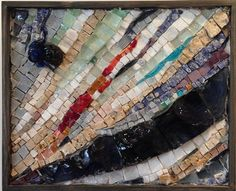 Confluence by Sohpie Drouin  ~  Maplestone Gallery  ~  Contemporary Mosaic Art