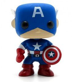 Funko Pop - Captain America (Marvel)