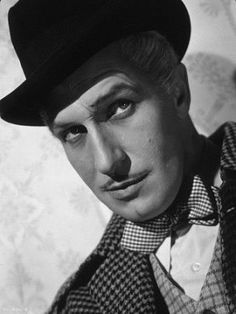 The sinister and ever sexy Vincent Price - this is exactly what my Step-Dad Charlie looked like when we first met him!