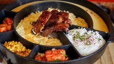 New Restaurant Alert: Jin Joo Korean Grill at SM Aura Premier, Bonifacio Global City Korean Dishes, Korean Food, Korean Recipes, Korean Grill, K Food, I Want To Eat, Pork Belly, Cravings, Grilling