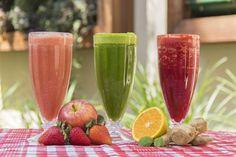 3 receitas de suco detox: hidratante, bronzeador e relaxante (Foto: Divulgação)