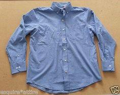 #Izod men's dress button-down blue checkers cotton shirt size M retail $55 visit our ebay store at  http://stores.ebay.com/esquirestore