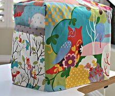 This is a quick project to make for someone who loves to sew. The tutorial includes easy to follow measuring instructions to make a custom fitted sewing ma