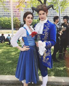 "1,131 Likes, 12 Comments - Sam LeStrange (@deceptology) on Instagram: ""This is my jam @alittleandroid #beautyandthebeast #beast #thebeast #beautyandthebeastcosplay…"""