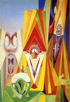 Feast of the God, Max Ernst