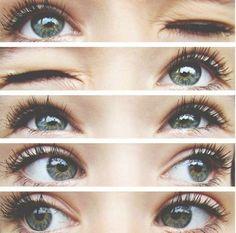Beauty Makeup, Eye Makeup, Hair Makeup, Kohl Makeup, Makeup Style, Prom Makeup, Pretty Eyes, Beautiful Eyes, Amazing Eyes