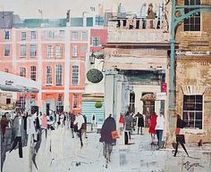 Lunchtime, Covent Garden by Tom Butler