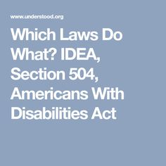 Americans With Disabilities Act Ada Online Link To The Law