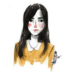 I'm a freelance illustrator based in Turin, Italy Ilaria Urbinati