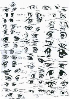 Male Anime Eyes Female Anime Eyes By Eliantart On Deviantart Aphxvwy « Trending ImageTrending Image