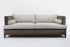 Franklin Sofa  MidCentury  Modern, Transitional, Leather, Upholstery  Fabric, Sofa by Lawson Fenning