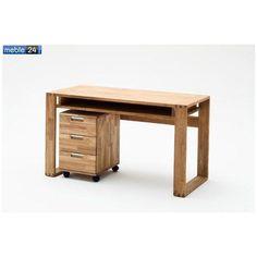 Biurka drewniane dąb olejowany BARTEK MINI 135/60cm