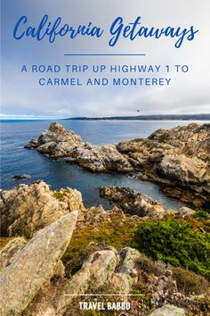 Head up California's Highway 1 through Big Sur to Carmel and Monterey! It's a spectacular drive and there's a lot to do. Here's what I recommend... California Getaways, Carmel Beach, Cannery Row, San Simeon, Highway 1, Monterey Bay Aquarium, Whale Watching, Pebble Beach, Big Sur