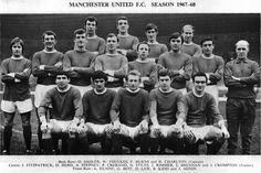 1967/68 United team