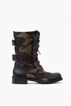 NYC Boots - Camo