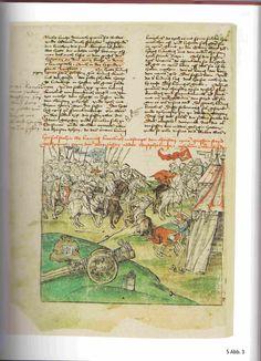 Hessische Chronik von Wigand Gerstenberg Stadtchronik Frankenberg (4) um 1500