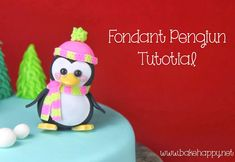 Bake Happy: Fondant Penguin Tutorial