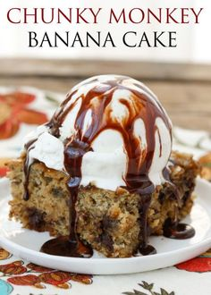 Chunky Monkey Snack Cake | eBay {traditional and gluten free recipes included}