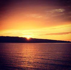 Stunning #sunset tonight! #stivesbay #cornwall #summer  #beach #orange  #yellow  #sea #seaside #summerdays #summerlove #hayle #familytrip #sunsetview #peacefulmoments #stunningshots #nature #beachlover #beachlove Summer Of Love, Summer Days, Summer Beach, Yellow Sea, Orange Yellow, St Ives Bay, Cornwall, Family Travel