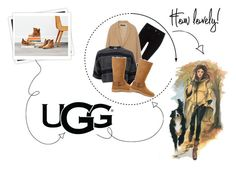 """""""The New Classics With UGG: Contest Entry"""" by hola-hi ❤ liked on Polyvore featuring GALA, UGG, Bellagio, Maison Scotch, MANGO, Brunello Cucinelli and ugg"""