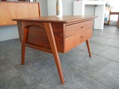 Los Angeles: Mid Century Danish Modern Night Stand or Side table eames $195 - http://furnishlyst.com/listings/32248