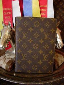 0bd2ed64d643 Vintage RARE Saks LOUIS VUITTON Agenda Cover Portfolio Address Book  Organizer LV  ad  louisvuitton  agenda  luxuryitems