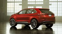 2016 Ford Edge is a new vehicle that will capture our attention with its better design styling and three options of powertrain maximizing the performance. 2016 Ford Edge, 2016 Jeep, Us Cars, Jeep Grand Cherokee, My Ride, Super Cars, Competition, Cool Designs, Rear View