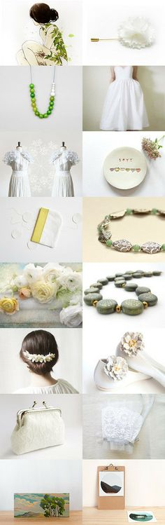 Spring spirit by Elsa A on Etsy--Pinned with TreasuryPin.com spring weddings inspiration!