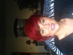 Love this, so cute! ❤Short red hair