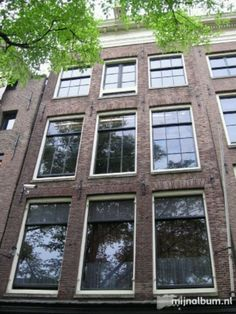 Anne Frank house. A must see when visiting Amsterdam.