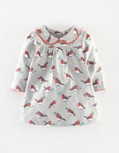 Pretty Collar Jersey Dress 73140 Dresses at Boden