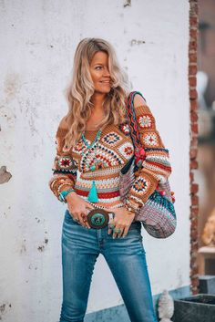 New Crochet Clothes Boho Gypsy Bohemian Style Ideas Mode Hippie, Hippie Style, Bohemian Style, Boho Chic, Boho Gypsy, Hippie Bohemian, Hippie Chic, Bohemian Outfit, Gypsy Cowgirl